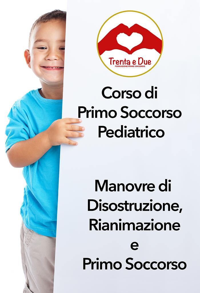 corsi primo soccorso pediatrico
